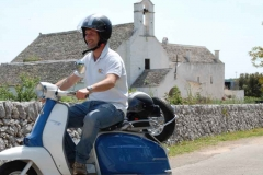 Vespa tour Charjming tours Alberobello 03