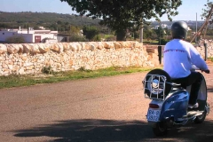 Vespa tour Charjming tours Alberobello 04